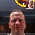 FaceTime with Daddy in China #take12