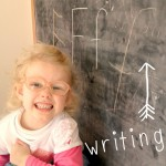 Emily's writing #homeschool #ABeautifulMess