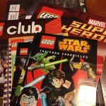 #Lego club arrived today – I'm sure I'm more excited than Emily about it! You hear me @ktscrapbooklady right?