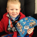 Don't worry Edward didn't miss out! #lego #stickers (and yes they are Lego Star Wars jammies)