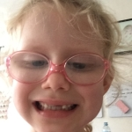 Found #EmilyCeleste took some selfies on my phone so I thought it's time for a tooth update… Emily list her 4th on Friday, #LucyClaire got her 3rd yesterday