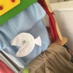Sandy the Sunfish swam in the sea #EdwardJames puppeteer #homeschool #play #puppets #imagination