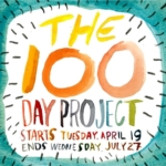 Over on my @digiscraphq account I'm participating in #the100dayproject