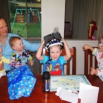 Excitement this morning as #EdwardJames opened his gifts and cards for his 4th Birthday